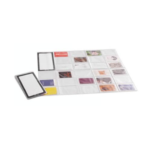 Porte Cartes De Visite Pliable Card Map
