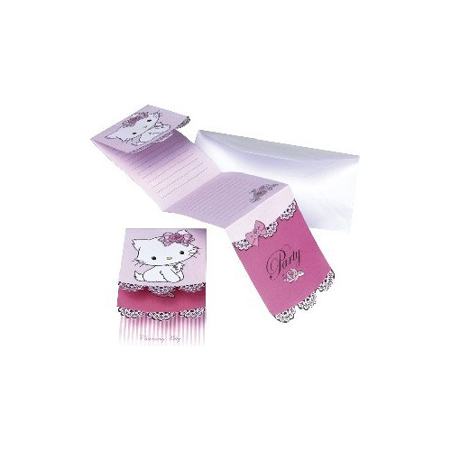 SAC 6 CARTES INVITATION CHARMMY KITTY