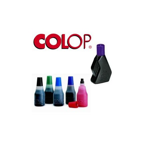 FLACON 25ML ENCRE TAMPON 801 ROUGE