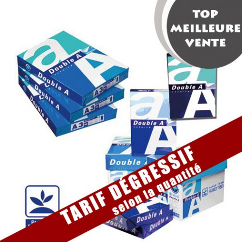 PAPIER MULTI USAGES A4 DOUBLE A BLANC