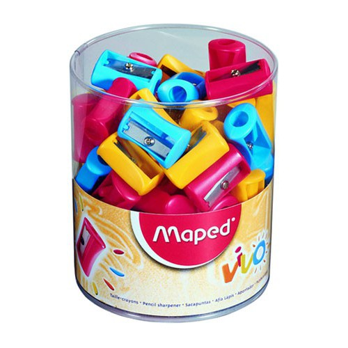 TAILLE CRAYONS 1USAGE VIVO PVC ASS.