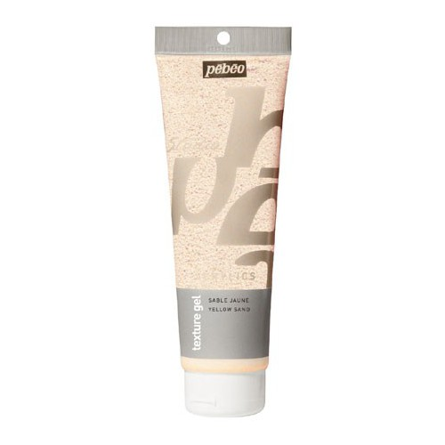 GEL DE TEXTURE SABLE 250ML JAUNE
