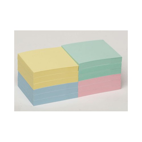 LOT 12 BLOCS POST IT NOTES 76X76MM PASTE