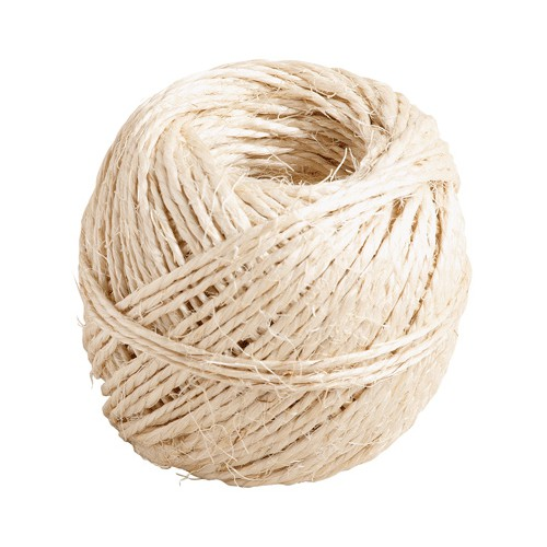 PELOTE 100G FICELLE SISAL 40M MOY BLOND