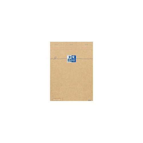 BLOC NOTES A4 160P ORANGE OXFORD Q5X5