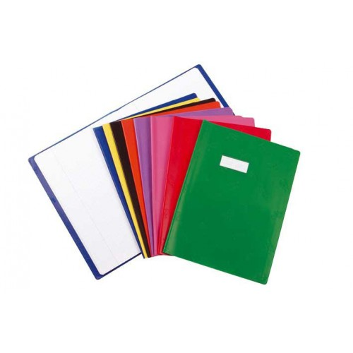 PROTEGE CAHIER A4 OPAQUE ROUGE
