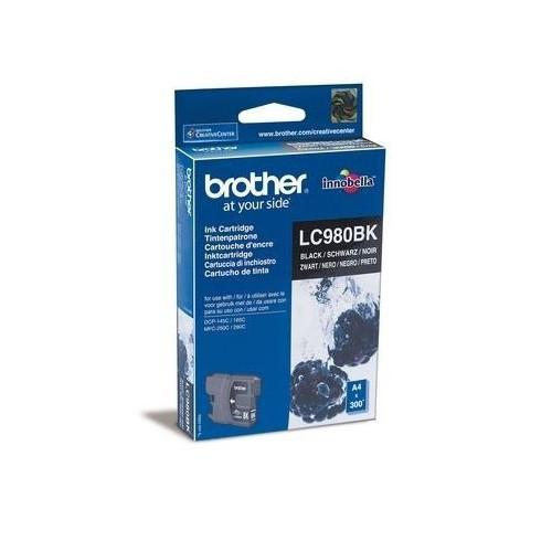 CARTOUCHE JET ENCRE BROTHER LC980 NOIR