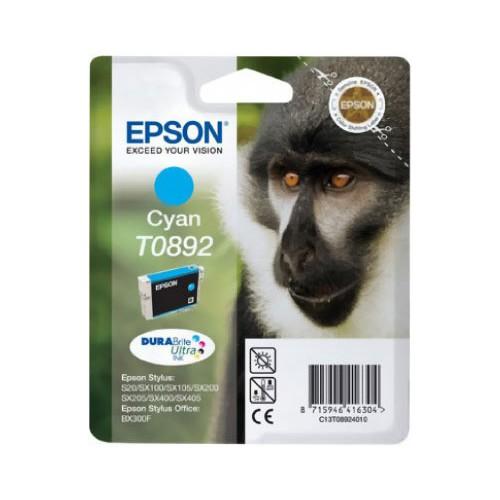 CARTOUCHE JET ENCRE EPSON T0892 CYAN