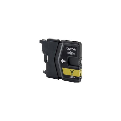 CARTOUCHE JET ENCRE BROTHER LC985 JAUNE