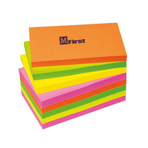 LOT 12 POST IT NOTES 76X127MM VIF ASS.