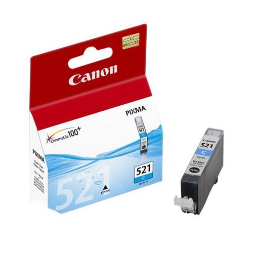 CARTOUCHE JET ENCRE CANON CLI-521 CYAN
