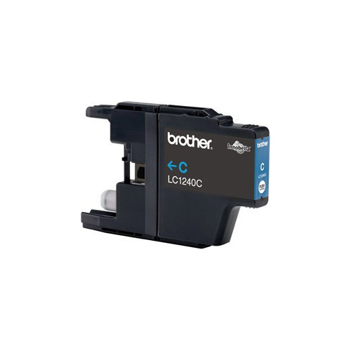 CARTOUCHE JET ENCRE BROTHER LC1240 CYAN