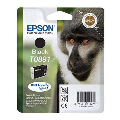 CARTOUCHE JET ENCRE EPSON T0891 NOIR