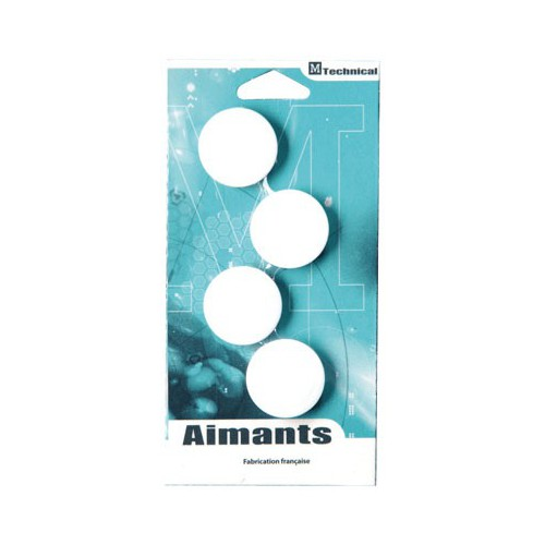 AIMANT ROND 32MM BLANC