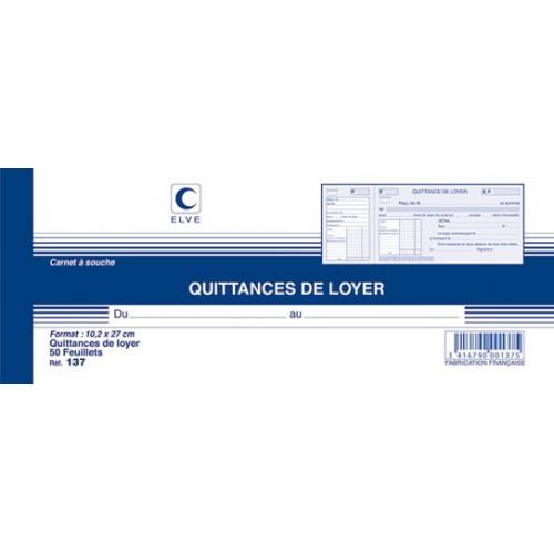 MANIFOLD QUITTANCE DE LOYER 10X27 50F