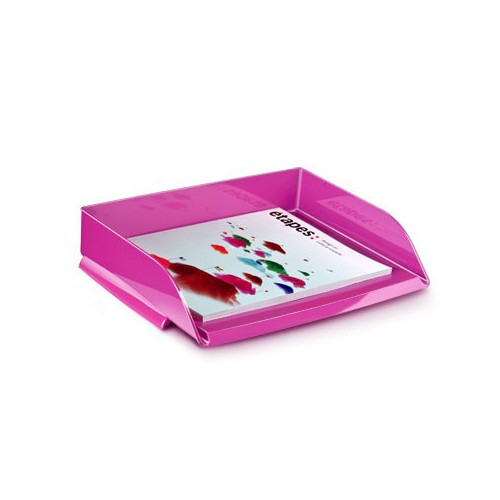 CORBEILLE COURRIER 135 GLOSS ROSE PEPSY