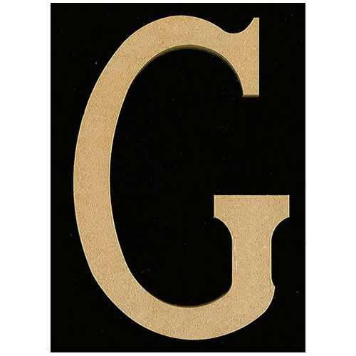 LETTRE G 220X12MM MEDIUM