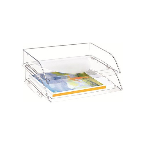 CORBEILLE COURRIER CEPPRO CRISTAL