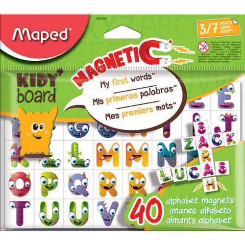 SAC 40 MAGNETS KIDY BOARD ALPHABET