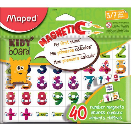 SAC 40 MAGNETS KIDY BOARD CHIFFRES