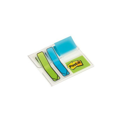 BLIS 4X16 MARQUE PAGES POST IT AQUA