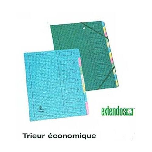 TRIEUR A4 EXT 7COMP ELAST CARTON