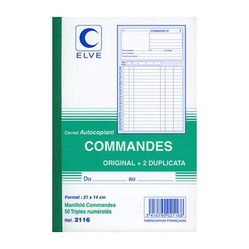 MANIFOLD COMMANDES 21X14 TRIPLI NCR