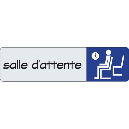 ETIQUETTE SIGNALISATION SALLE D ATTENTE