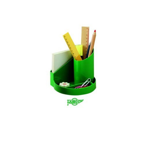 POT A CRAYONS 4 COMP POLYPRO ROUGE