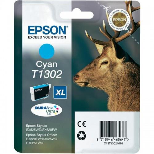 CARTOUCHE JET ENCRE EPSON T1302 CYAN