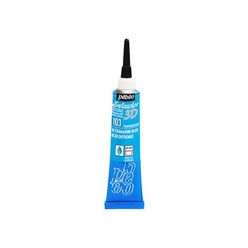 SETACOLOR 3D 20ML PHOSPHORESCENT BLEU OU