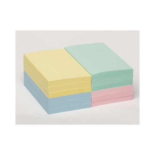 LOT 12 BLOCS POST IT NOTES 76X127MM PAST