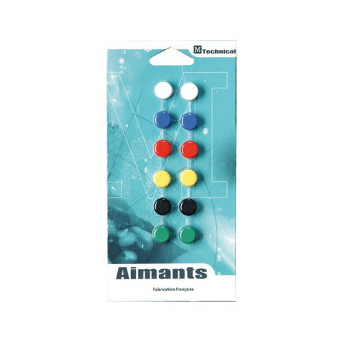 AIMANT ROND 12MM ASSORTIS
