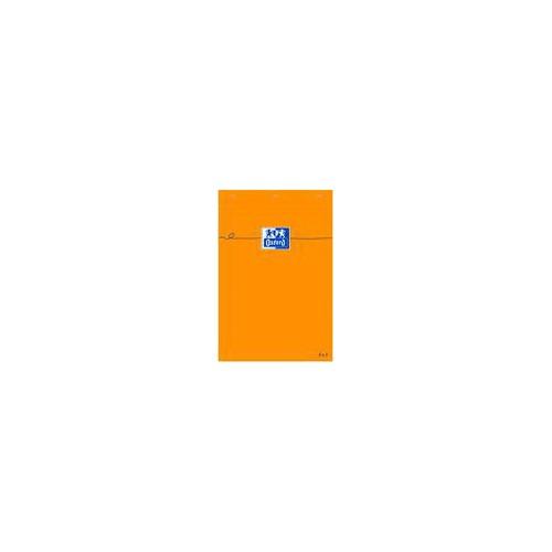 BLOC NOTES 7X10 160P ORANGE OXFORD Q5X5