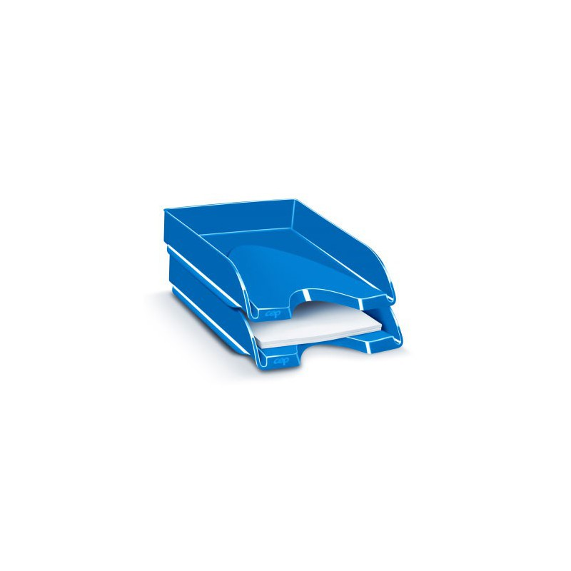 CORBEILLE COURRIER CEPPRO GLOSS BLEU OCE