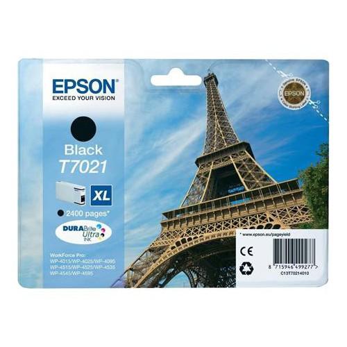 CARTOUCHE JET ENCRE EPSON T7021 XL NOIR