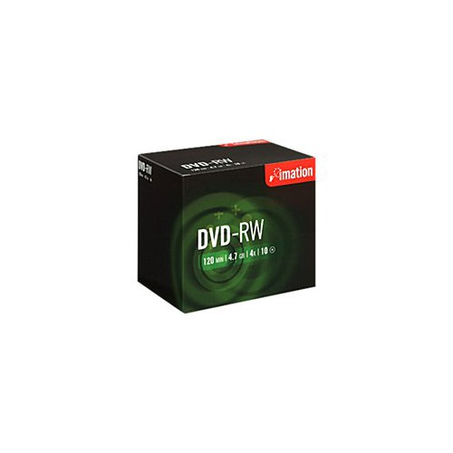 PACK 10 DVD-R 120MN 4.7GO 16X IMATION