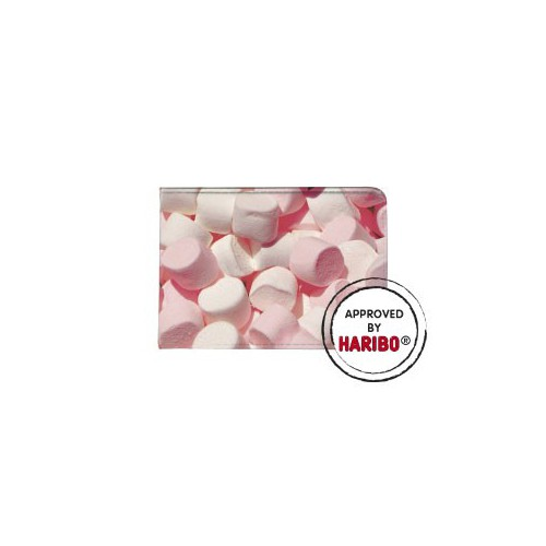 PORTE CARTES 10X7CM HARIBO CHAMALLOWS