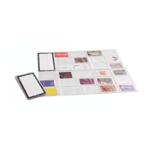 PORTE CARTES VISITE CAPACITE 54 CARD MAP