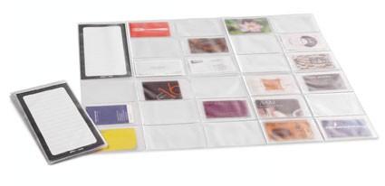 PORTE CARTES VISITE CAPACITE 54 CARD MAP