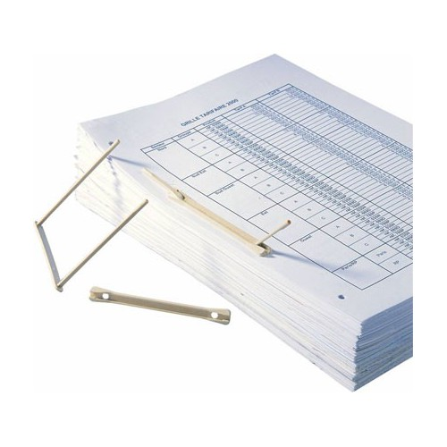 FASTENER ARCHIVES PLASTIQUE BEIGE