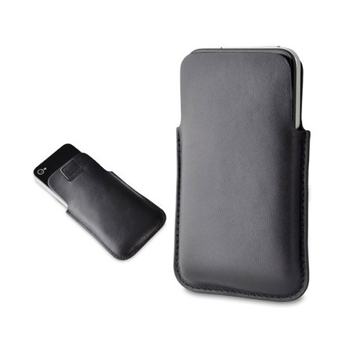 ETUI POCKET SLIM IPHONE4 CUIR NOIR