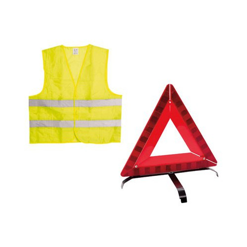 KIT SECURITE GILET + TRIANGLE