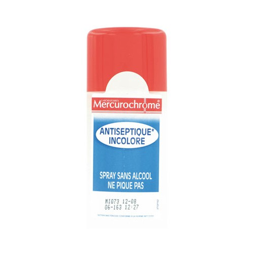 SPRAY 100ML MERCUROCHROME INCOLORE