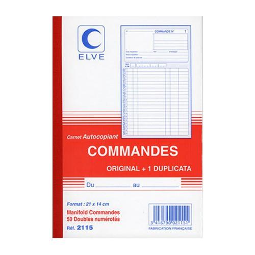 MANIFOLD COMMANDES 21X14 DUPLI NCR