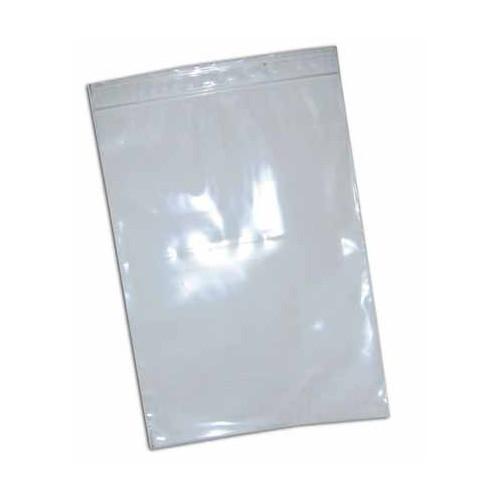 SACHET 15X22.5CM PVC FERMETURE ZIP