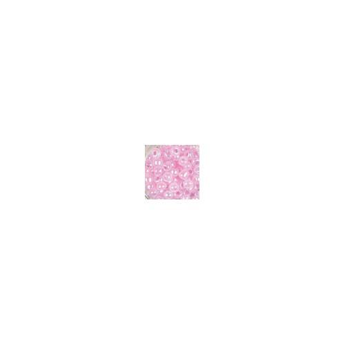 BTE 15G ROCAILLE ASIE 2.5MM ROSE CLAIR L