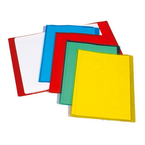 PROTEGE CAHIER A4 CRISTAL INCOLORE