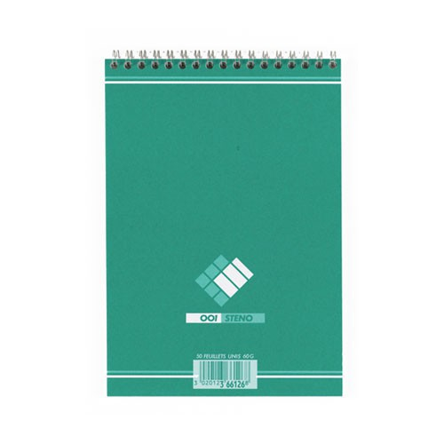 BLOC NOTES 14X21 90P STENO UNI 60G