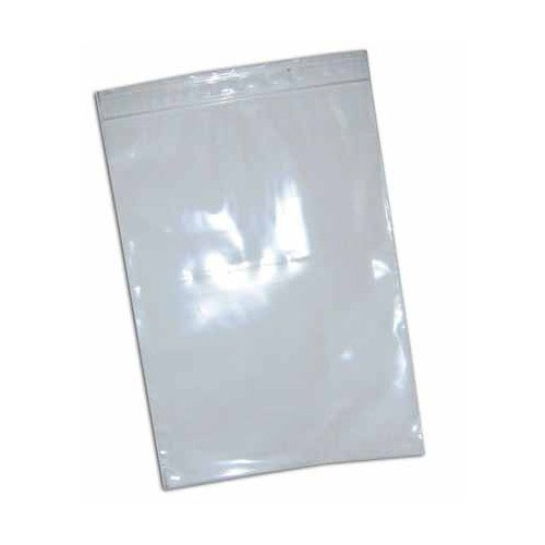 SACHET 10X15CM PVC FERMETURE ZIP